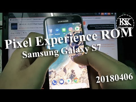 Pixel Experience ROM for Samsung Galaxy S7 : Review