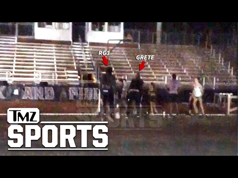 Robert Griffin III Restrained In Altercation At FSU Track | TMZ Sports