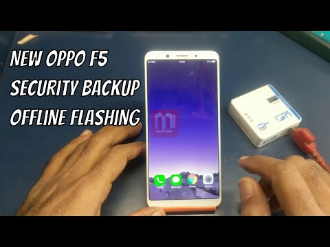 New - Oppo F5 Security Backup And Offline Flashing