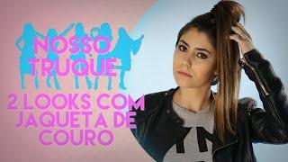 COMO COMBINAR JAQUETA DE COURO NO LOOK   Nosso Truque
