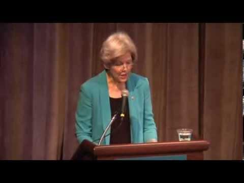 Keynote Address by Senator Elizabeth Warren