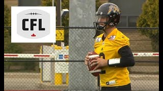 First look at Johnny Manziel in the CFL thumbnail