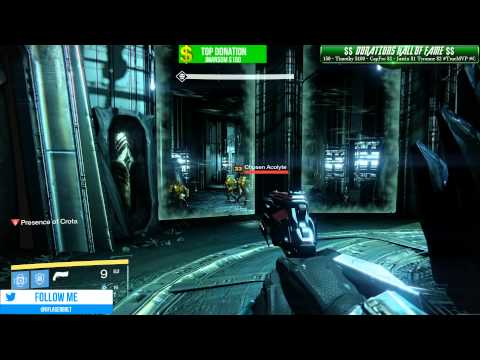 Destiny SUBSCRIBER NIGHT GIVEAWAY Gaming With SUBS - RAIDS CROTAS END VAULT OF GLASS
