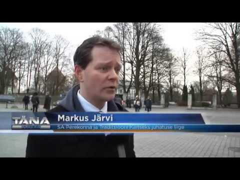 Tallinna TV kajastus SAPTK meeleavaldusest (24. novembril 2015)