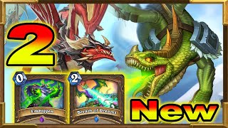 Hearthstone: My Brand New Deck With Embiggen, Breath of Dreams and Dragons | Descent of Dragons Pt.2