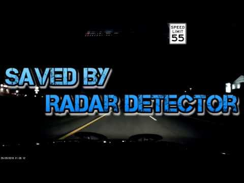 Saved By Radar Detector From Cops Valentine One YouTube