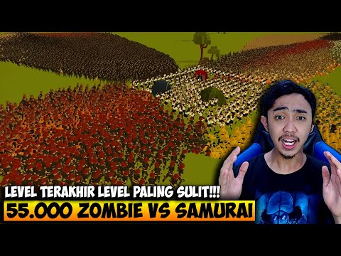 55.000 ZOMBIE VS PASUKAN SAMURAI WANITA - SWARMZ INDONESIA #4 - 동영상