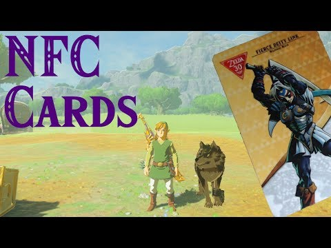 "Breath Of The Wild - NFC Cards from ""WISH"". DO THEY WORK!?"