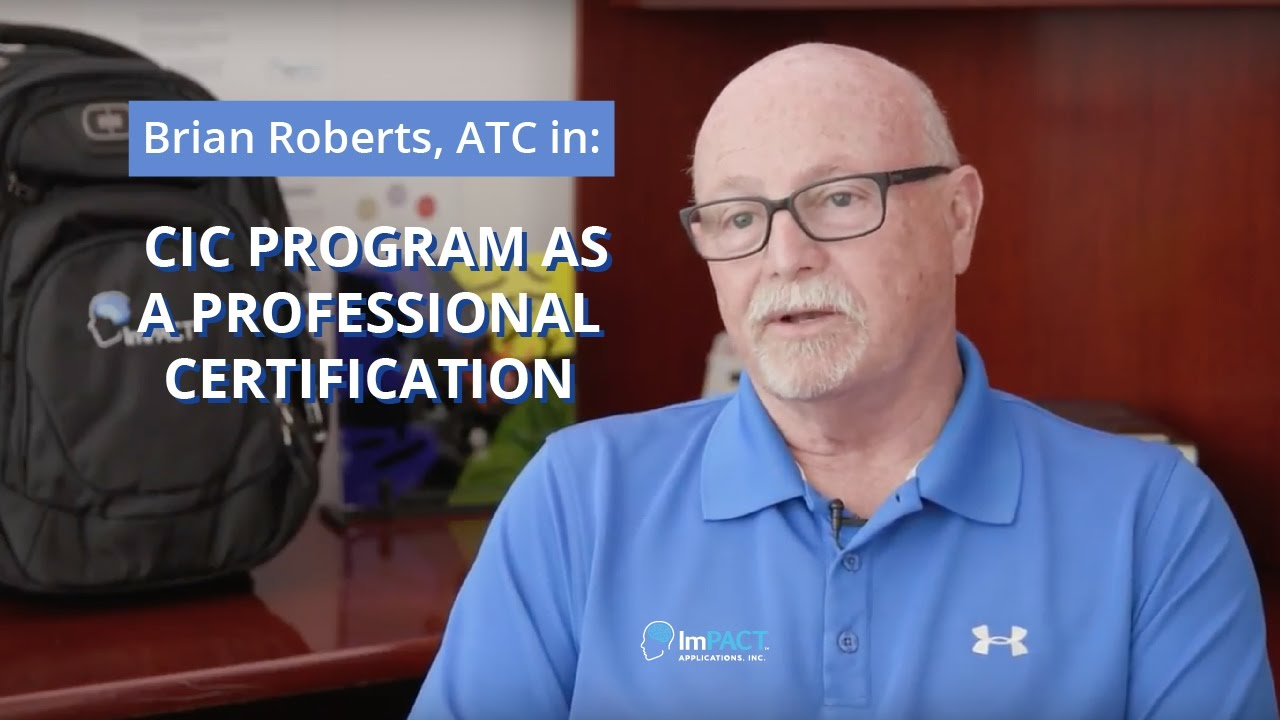 Cic Program As A Professional Certification Youtube