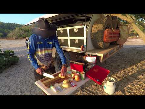 Camp Cooking in the Cape - Rhys' Rocking Ramb