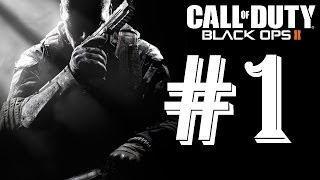 Call of Duty: Black Ops 2 1080p HD Gameplay Walkthrough Part 1 - Maximum PC Graphics Settings