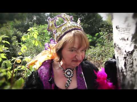 THE WICKED QUEEN, Janine Duvitski, wants you to come to our pantomime.