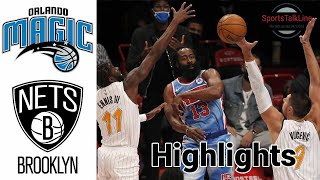 Magic vs Nets HIGHLIGHTS Full Game | NBA February 25