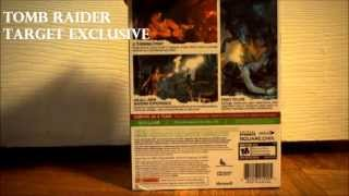 Tomb Raider Steel Book Target Exclusive