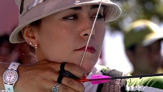ROMAN vs XU- 1/2 Final Recurve Women - Lausanne 2014