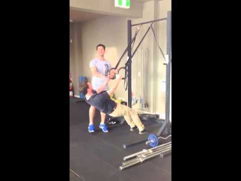 The best exercise for rounded shoulders?