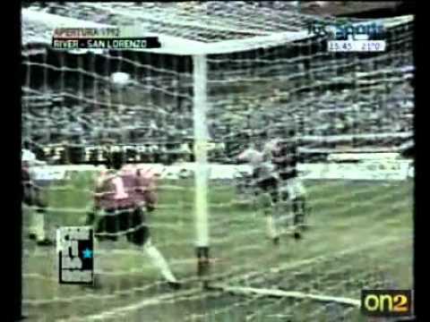 River 5 San Lorenzo 2 Apertura 1992