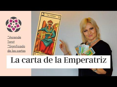 La Carta de LA EMPERATRIZ TAROT ARCANOS MAYORES significado y enseñanza APRENDE TAROT