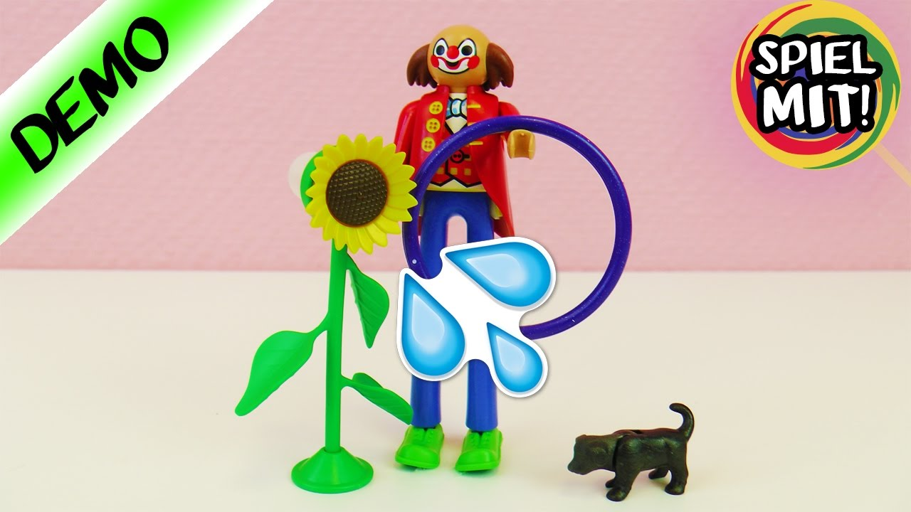 die gr te playmobil figur der welt riesen clown mit prank blume zirkus spiel mit mir youtube. Black Bedroom Furniture Sets. Home Design Ideas
