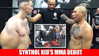 Synthol Kid Makes His MMA Debut