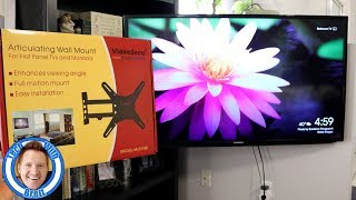 Best Selling Amazon TV Wall Mount Installation & Review