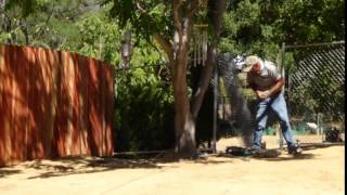 Redwood Fence Installation