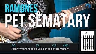 Скачать Ramones Pet Sematary Como Tocar Aula De Guitarra