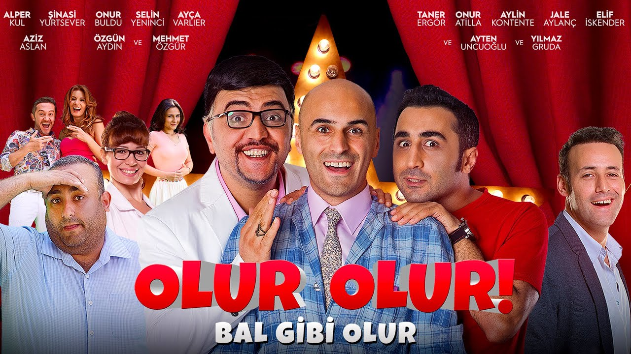 Olur Olur   Türk Komedi Filmi   Full Film İzle