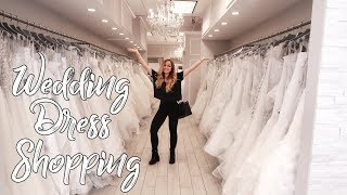 Wedding Series | Dress Shopping in NYC!