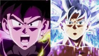 DBZMacky MUI Goku vs Goku Black Power Levels (Dragon Ball Super)