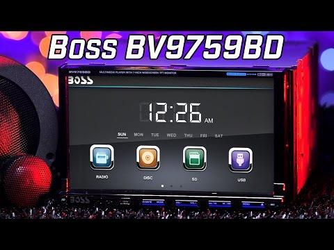 Boss BV9759BD DVD Bluetooth Stereo - Review 2016