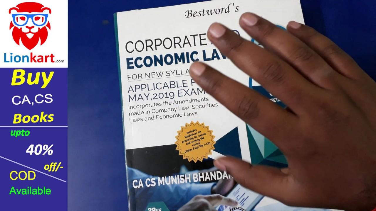 Book munish ca by bhandari law final