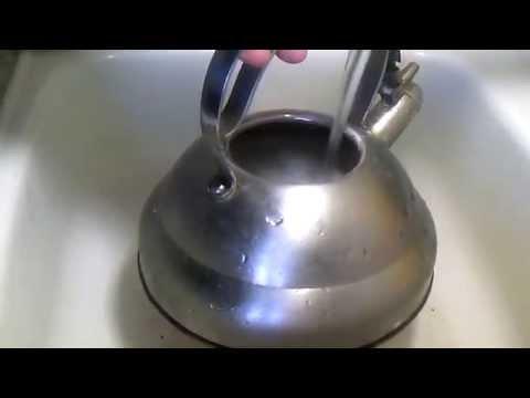 Как очистить чайник от накипи.