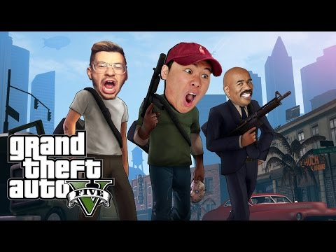 GTA 5 FUNNY MOMENTS #4 (TROLLING TEAM ALBOE)