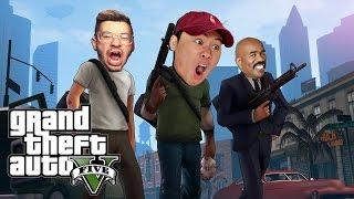 GTA 5 FUNNY MOMENTS #4 (TROLLING TEAM ALBOE)