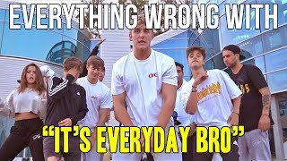 "Everything Wrong With Jake Paul ""It's Everyday Bro"""