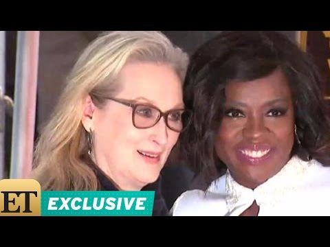 Thumbnail: EXCLUSIVE: Viola Davis on Having Meryl Streep Speak at Her Hollywood Walk of Fame Ceremony