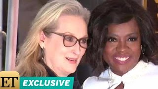 EXCLUSIVE: Viola Davis on Having Meryl Streep Speak at Her Hollywood Walk of Fame Ceremony