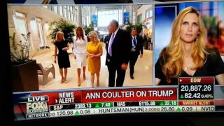 ANN COULTER IS A WITCH AND TRAITOR TO TRUMP!