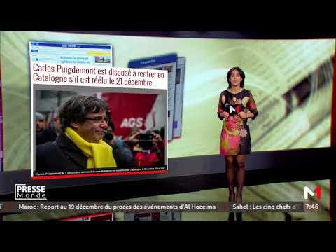 Presse Monde: Mercredi 13 Décembre 2017