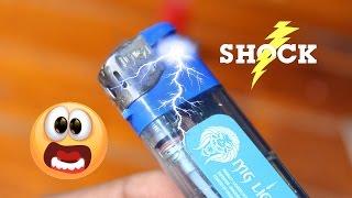 Amazing Super Shock Hack with Lighter