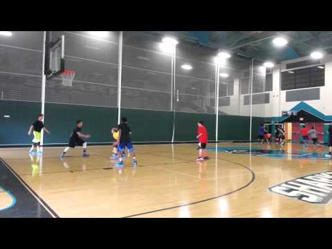 Santiago High School Basketball Tryouts - 2014