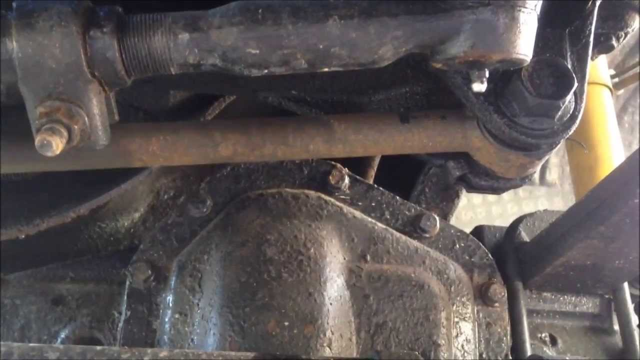 hight resolution of wandering steering problem diagnosis 2003 f350 superduty f350 4x4 part 3 of 4 youtube