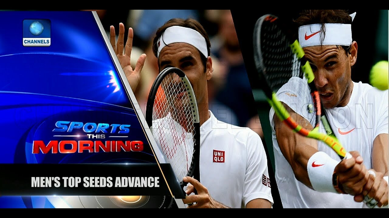 Wimbledon Updates As Federer, Serena Williams, Nadal Advance Pt.2 |Sports This Morning|