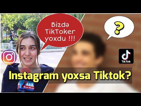 Instagram yoxsa tiktok ? sorğu #17