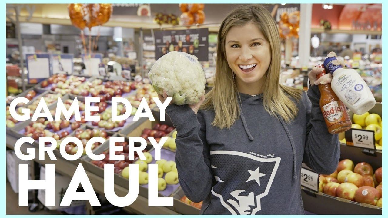 Game Day Grocery Haul | 5 Unique Healthier Snack Ideas than