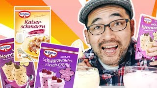 Trying Instant Desserts from Germany thumbnail