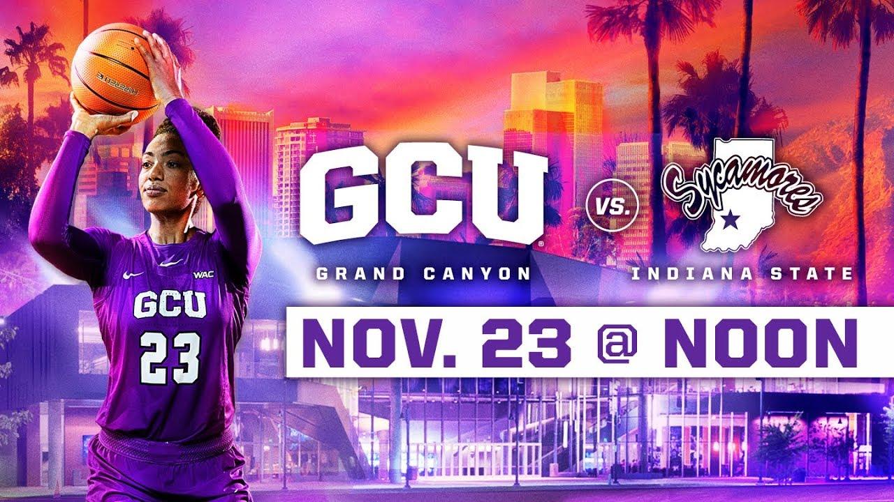 GCU Women's Basketball vs. Indiana State Nov 23, 2018