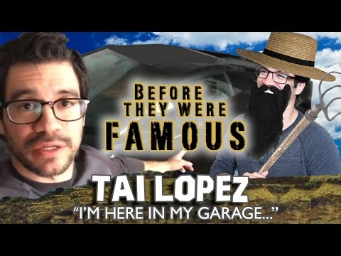TAI LOPEZ - Before They Were Famous - Here In My Garage...