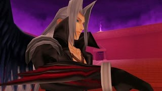 Kingdom Hearts: Sephiroth Boss Fight (PS3 1080p)